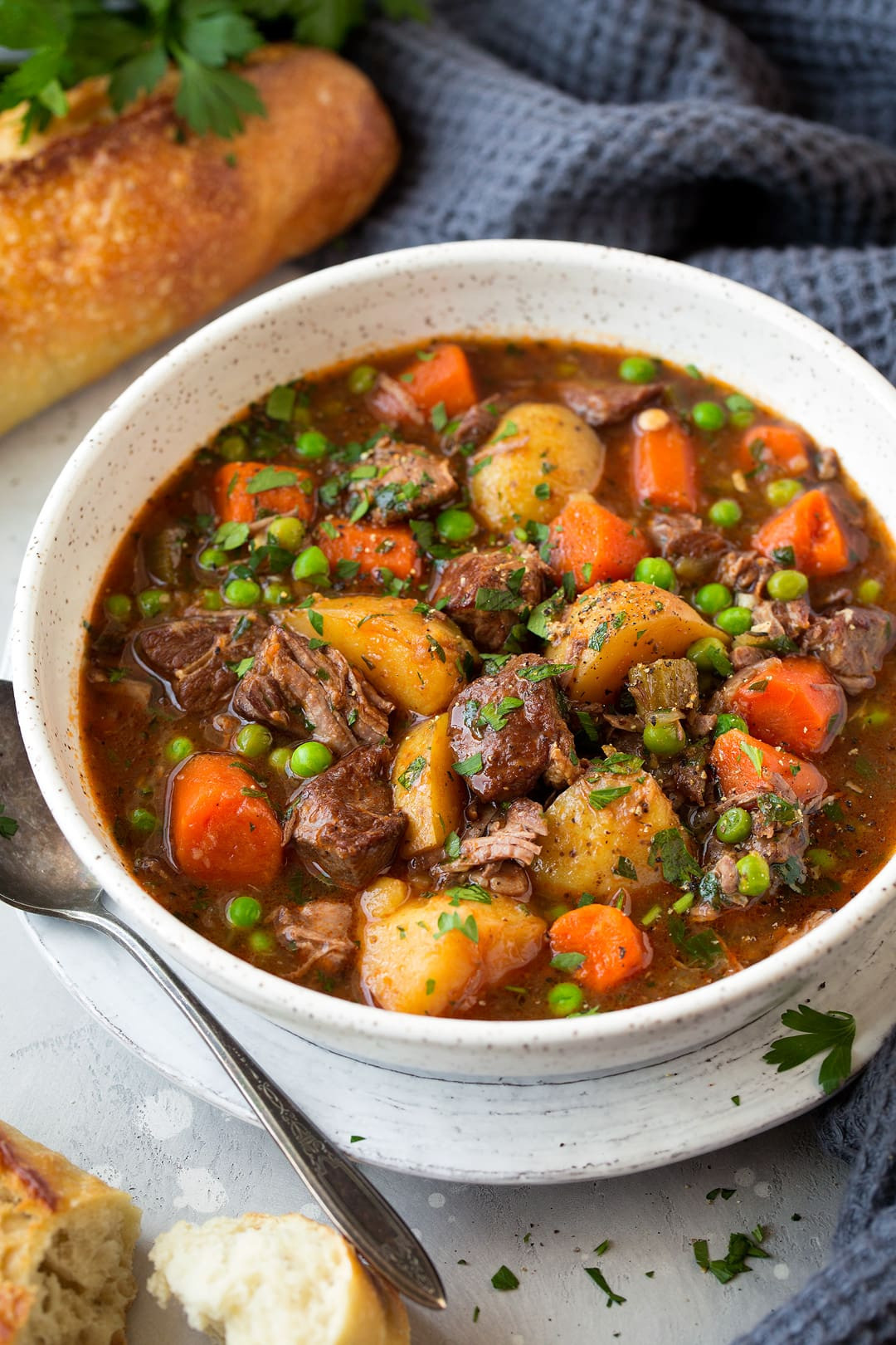 How To Cook Beef Stew  Slow Cooker Beef Stew Cooking Classy