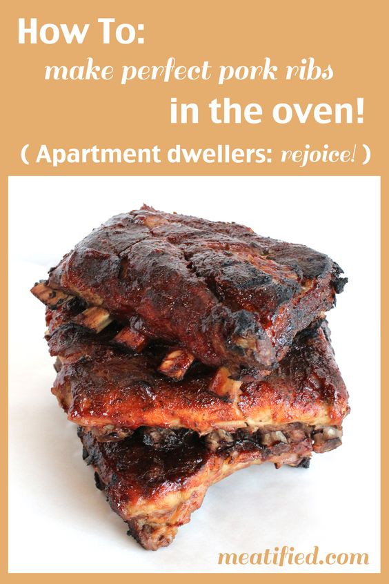 How To Cook Boneless Pork Ribs In The Oven Fast  how to cook ribs in the oven fast