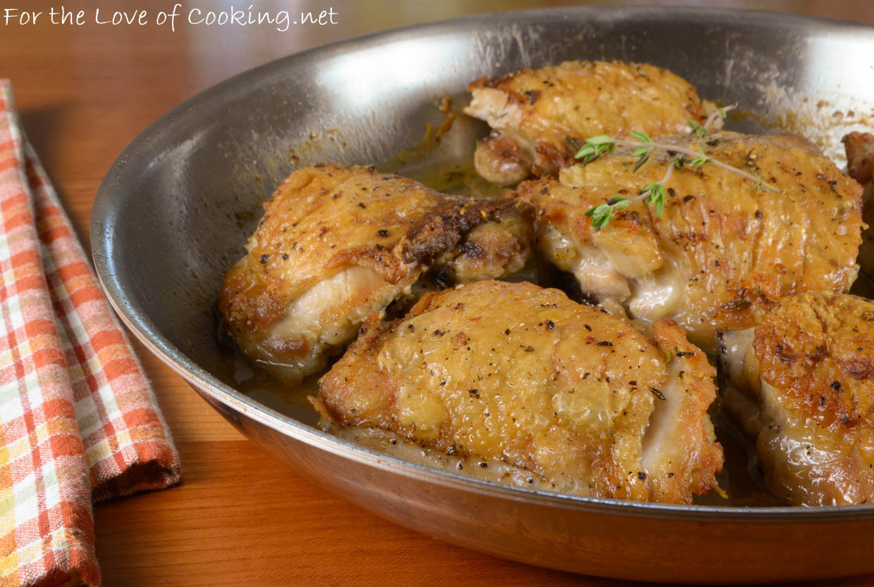 How To Cook Chicken Thighs In A Pan  Pan Roasted Chicken Thighs