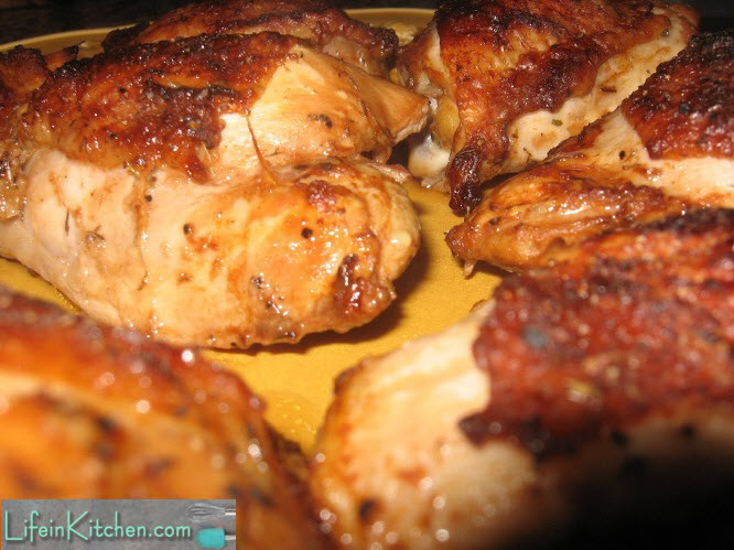 How To Cook Chicken Thighs On Stove  Delicious Oven Roasted Chicken Thighs lifeinkitchen