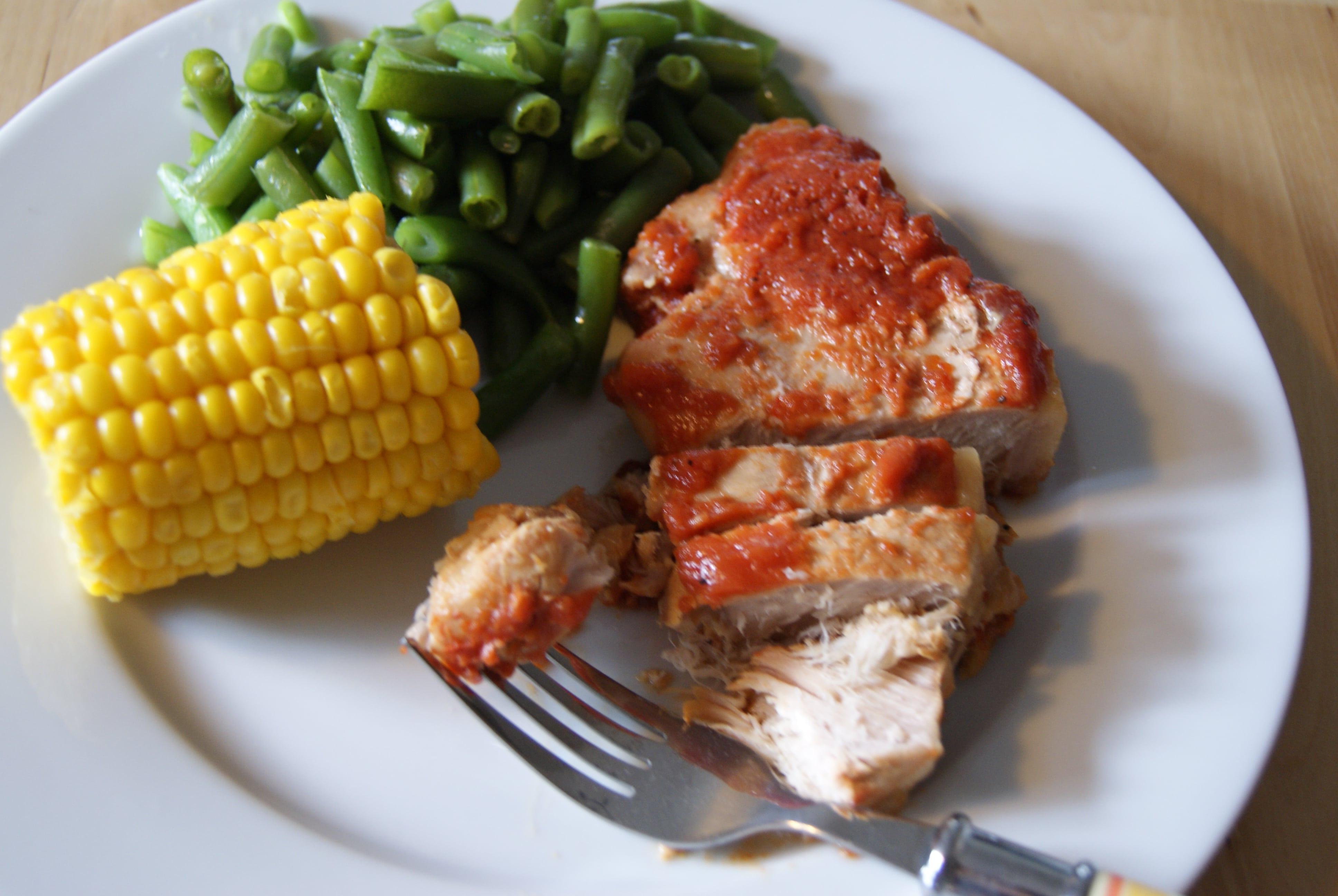 How To Cook Frozen Pork Chops  Frozen Pork Loin Chops Crock Pot