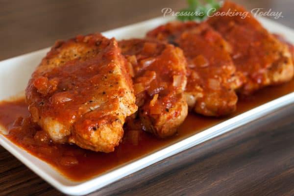 How To Cook Frozen Pork Chops  Pressure Cooker Instant Pot Pork Chops