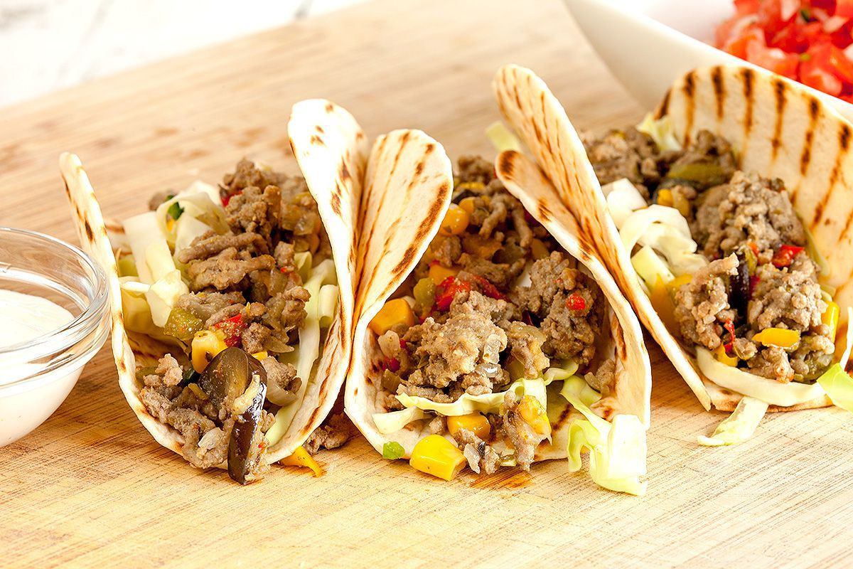 How To Cook Ground Beef For Tacos  Ground beef tacos ohmydish