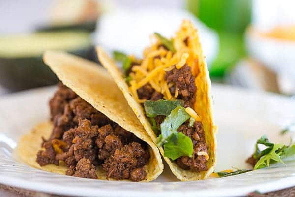 How To Cook Ground Beef For Tacos  Ground Beef Tacos