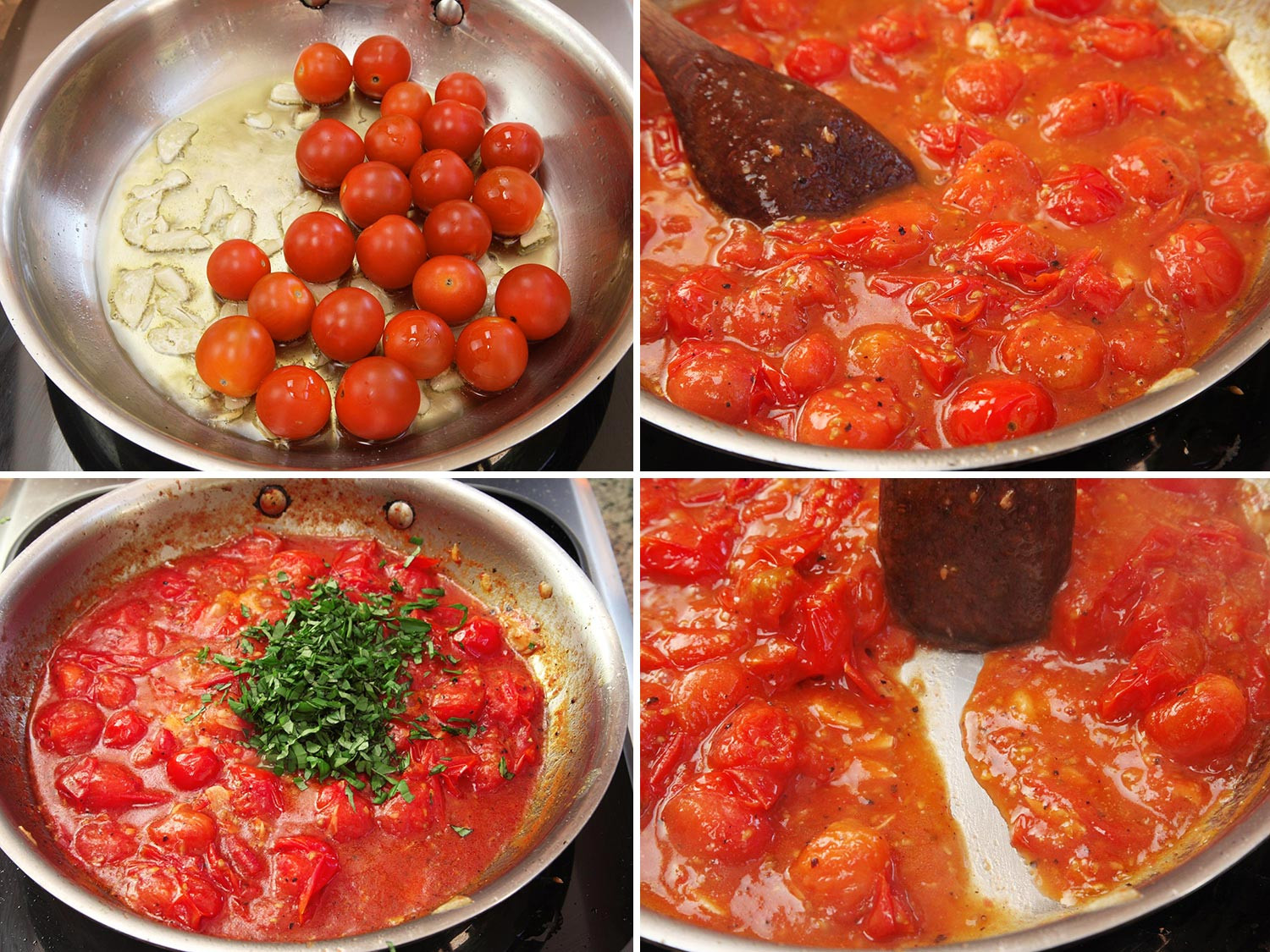 How To Cook Pasta Sauces  Video Use Cherry Tomatoes for the Fastest Fresh Pasta