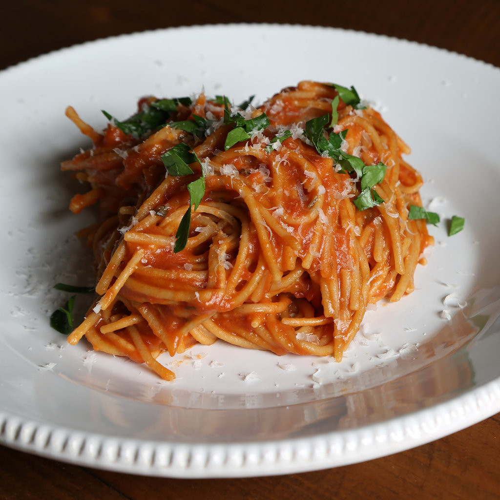 How To Cook Pasta Sauces  How to Cook Pasta in Tomato Sauce