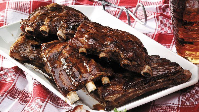 How To Cook Pork Loin Back Ribs  Head Start Pork Loin Ribs Recipe Pillsbury