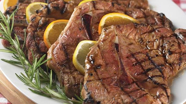 How To Cook Pork Shoulder Steak  Grilled Marinated Pork Shoulder Blade Steaks