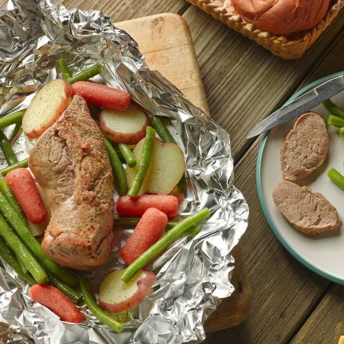 How To Cook Pork Tenderloin In Oven With Foil  Pork Tenderloin Foil Packet on Grill