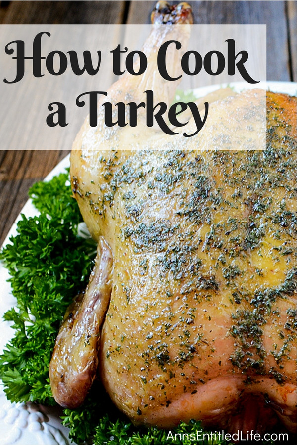 How To Cook Thanksgiving Turkey  How to Cook a Turkey