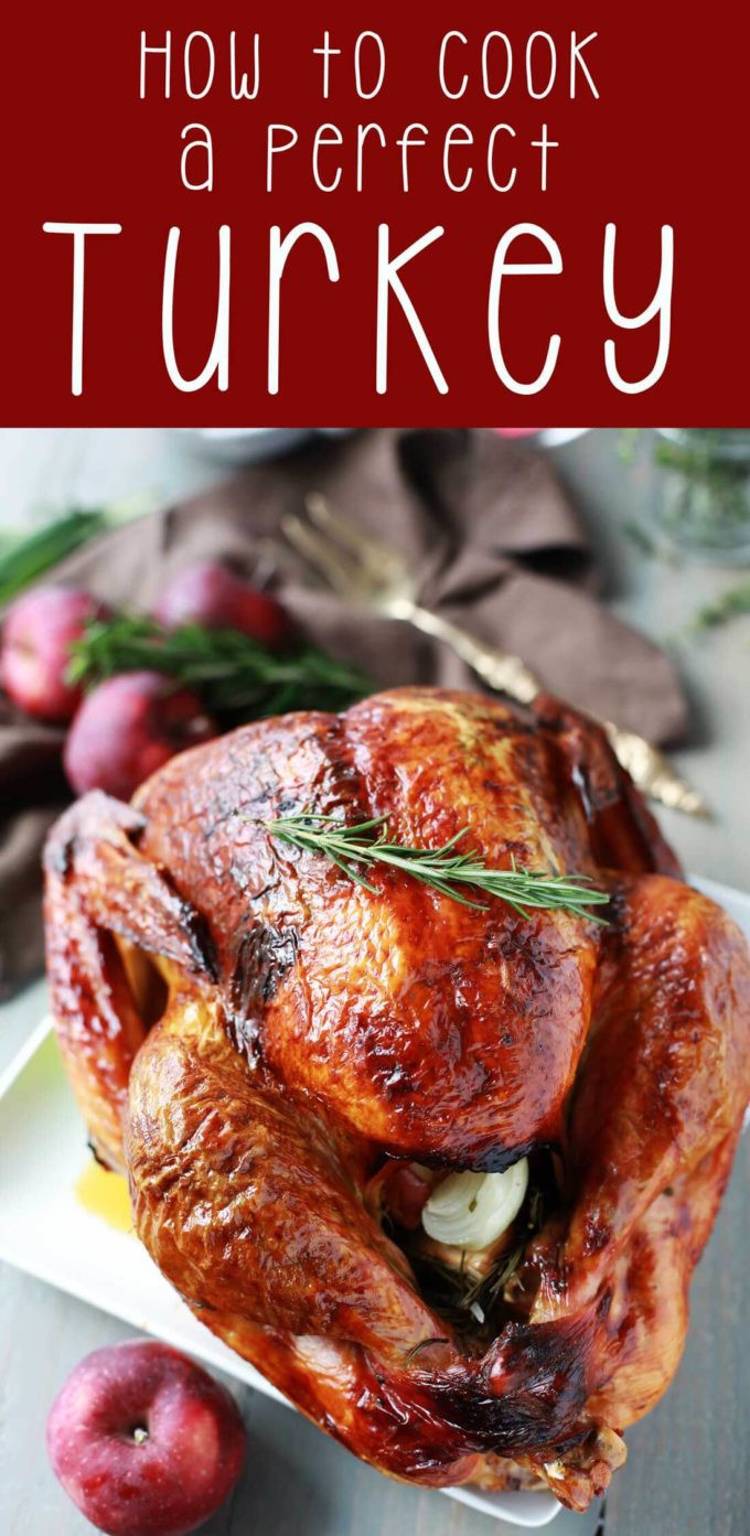 How To Cook Thanksgiving Turkey  How to Cook a Perfect Turkey Easy Peasy Meals