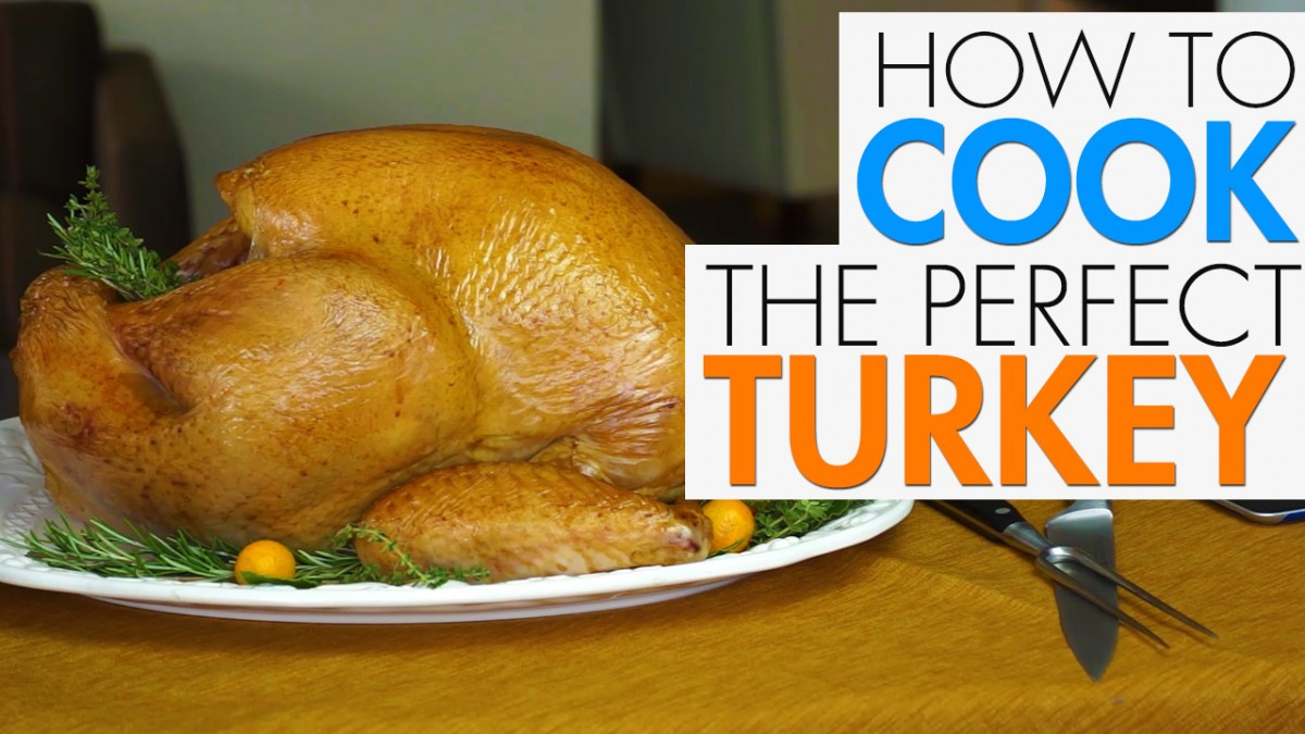 How To Cook Thanksgiving Turkey  How To Cook A Turkey Video AskMen