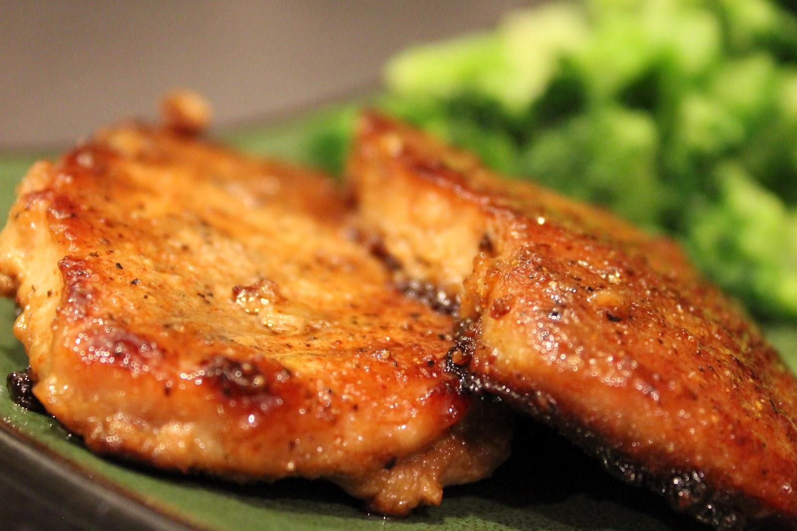 How To Cook Thick Boneless Pork Chops  Glazed Pork Chops