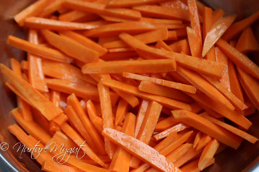 How To Cut Sweet Potato Fries  Crispy Oven Baked Sweet Potato Fries