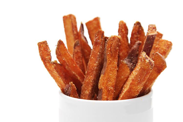 How To Cut Sweet Potato Fries  Hand cut sweet potato fries Recipe