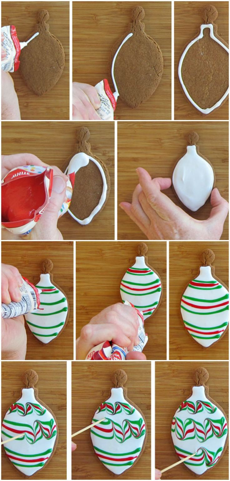 How To Decorate Christmas Cookies  Easy Christmas Cookies Decorating Ideas DIY