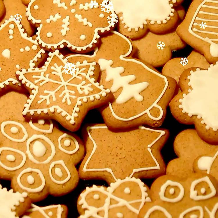 How To Decorate Christmas Cookies  How to Decorate Christmas Cookies Easy Level Happy