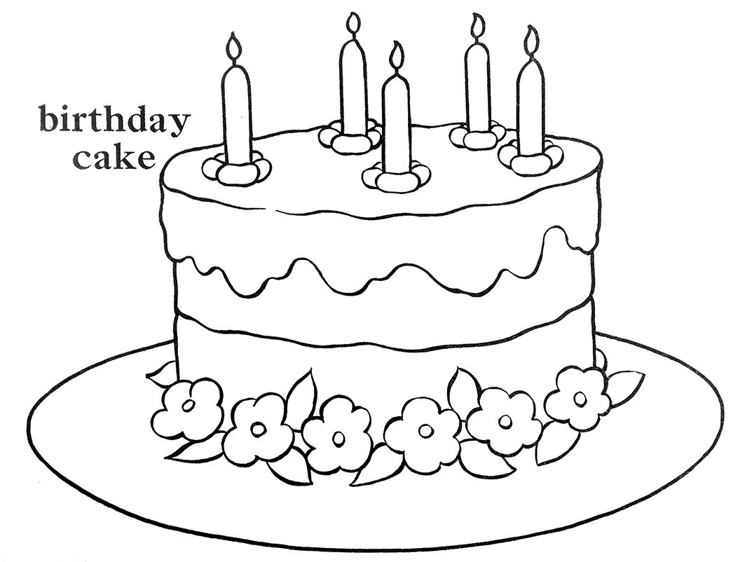 How To Draw A Birthday Cake  Happy Birthday To Me – Q is for Quilter