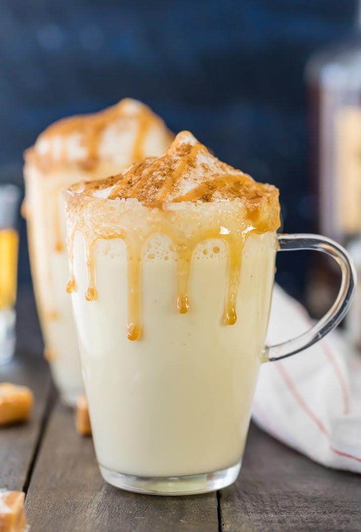 How To Drink Eggnog  Homemade Salted Caramel Eggnog