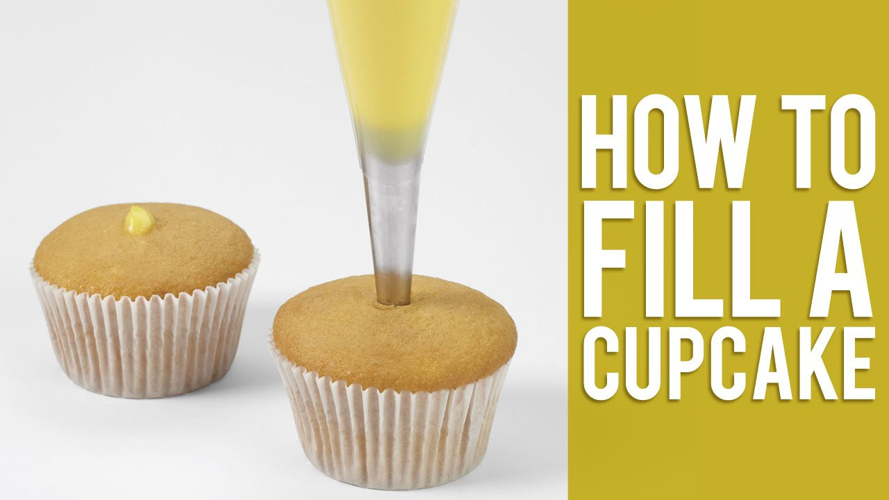 How To Fill Cupcakes  How to Fill a Cupcake