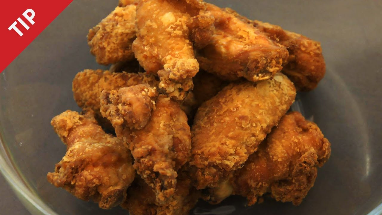 How To Fry Chicken Wings Without Flour  How to Make the Crispiest Fried Chicken Wings Ever CHOW