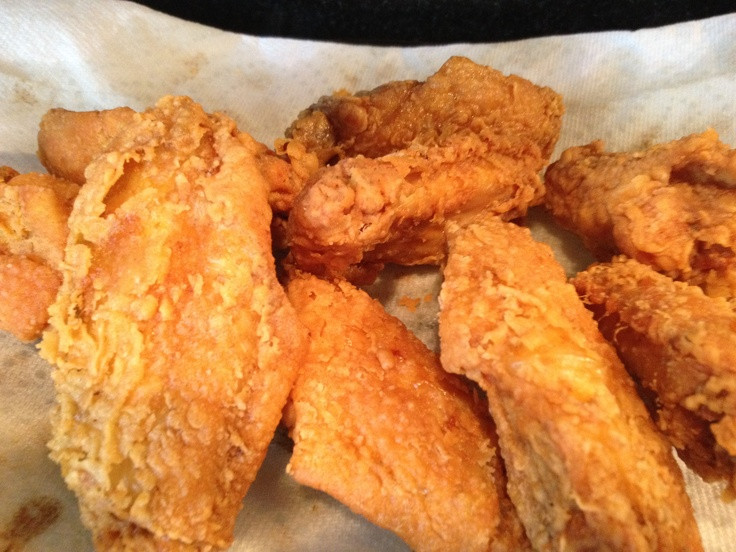 How To Fry Chicken Wings Without Flour  45 best White wings images on Pinterest