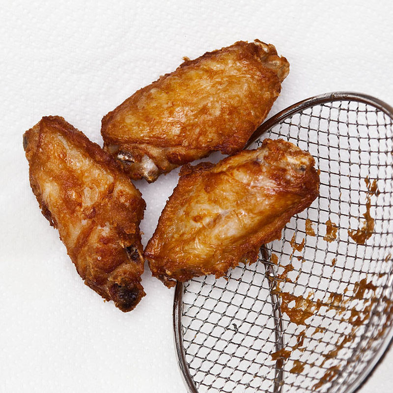 How To Fry Chicken Wings Without Flour  Crispy Chicken Wings Korean Style