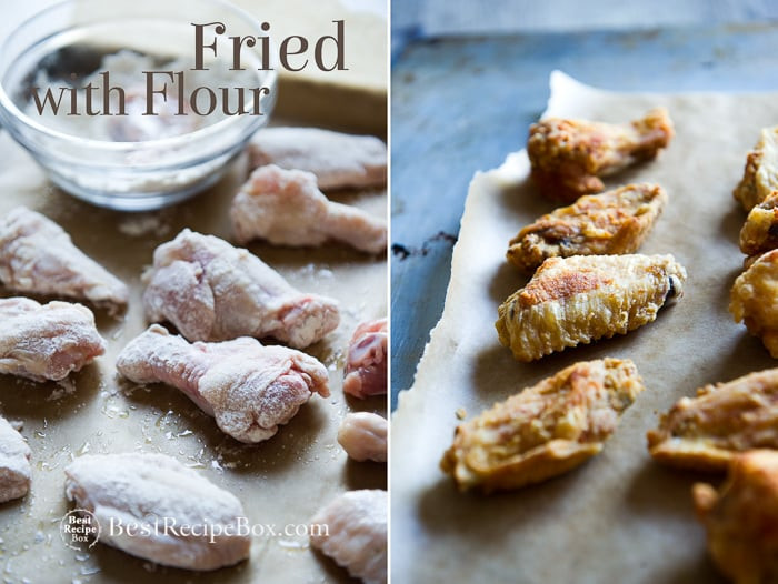 How To Fry Chicken Wings Without Flour  fried chicken without flour recipe