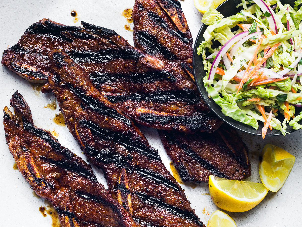 How To Grill Beef Ribs  Sweet and Spicy Grilled Beef Short Ribs Recipe Justin