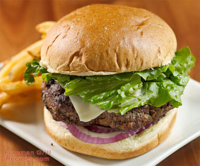 How To Grill Hamburgers  Easy George Foreman Grill Burger Foreman Grill Recipes