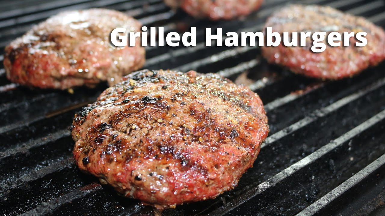 How To Grill Hamburgers  How to Grill Hamburgers on Big Green Egg
