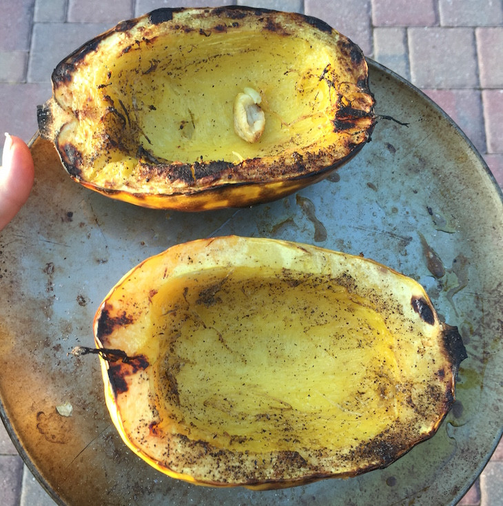 How To Grill Squash  How To Grill Spaghetti Squash Whole Lifestyle Nutrition