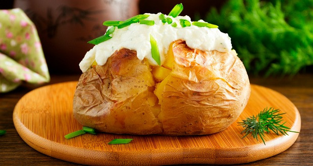 How To Make A Baked Potato In The Oven  Baked Potatoes Without Oven Recipe by Heena Osis NDTV Food