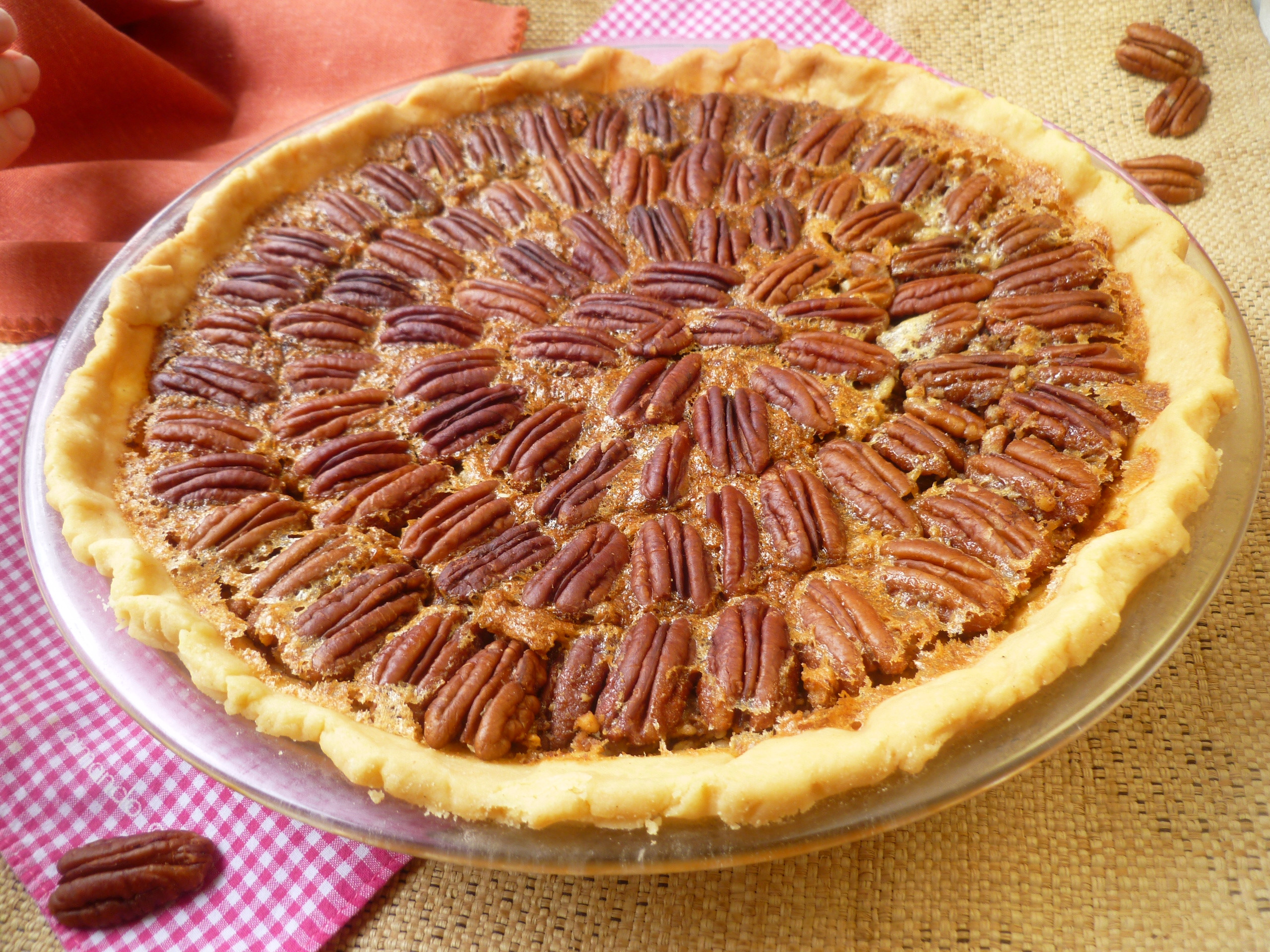 How To Make A Pecan Pie  Pecan Pie Baroque or Traditional