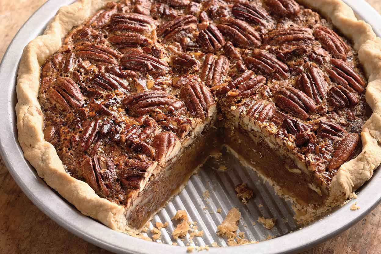 How To Make A Pecan Pie  Lyle s Golden Pecan Pie Recipe