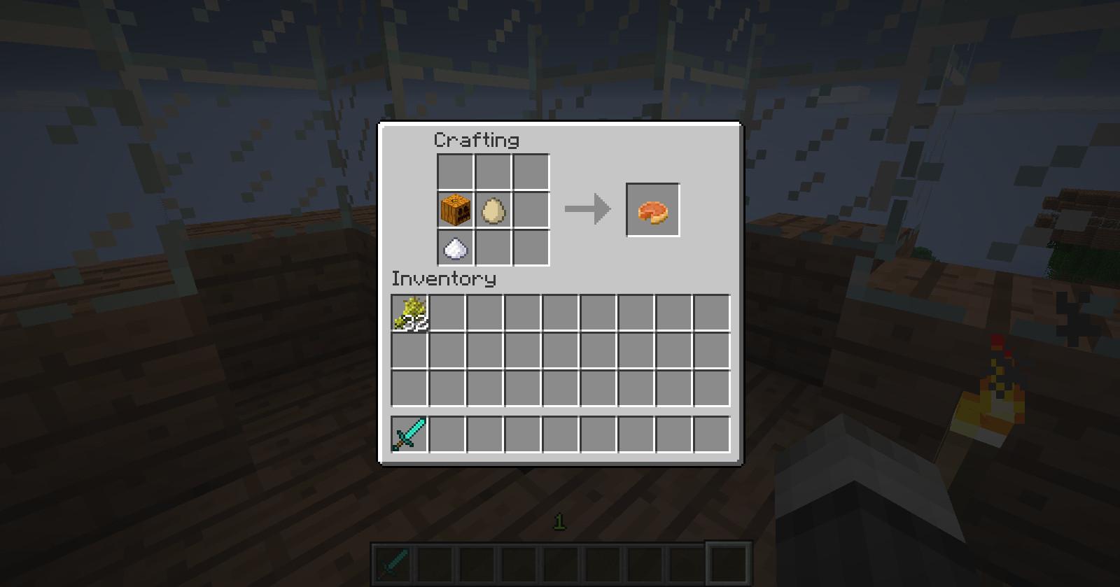 How To Make A Pumpkin Pie In Minecraft  The gallery for Pumpkin Pie Minecraft Recipe