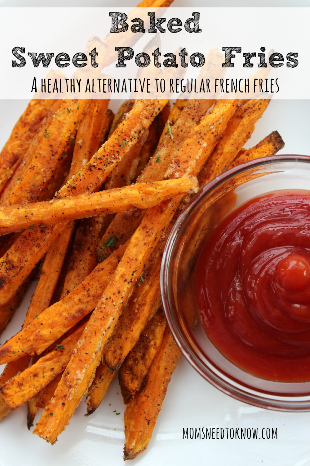 How To Make A Sweet Potato  Baked Sweet Potato Fries