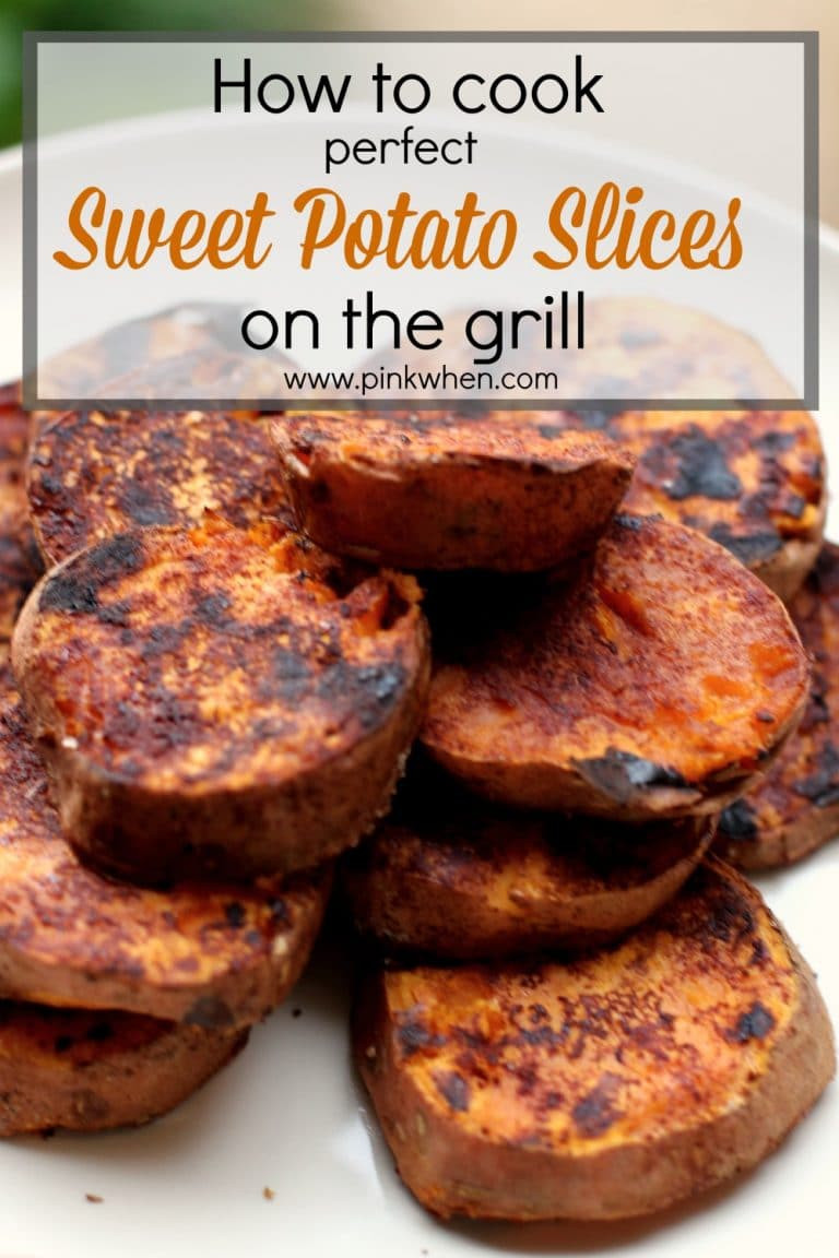 How To Make A Sweet Potato  How to Cook Sweet Potatoes on the Grill PinkWhen
