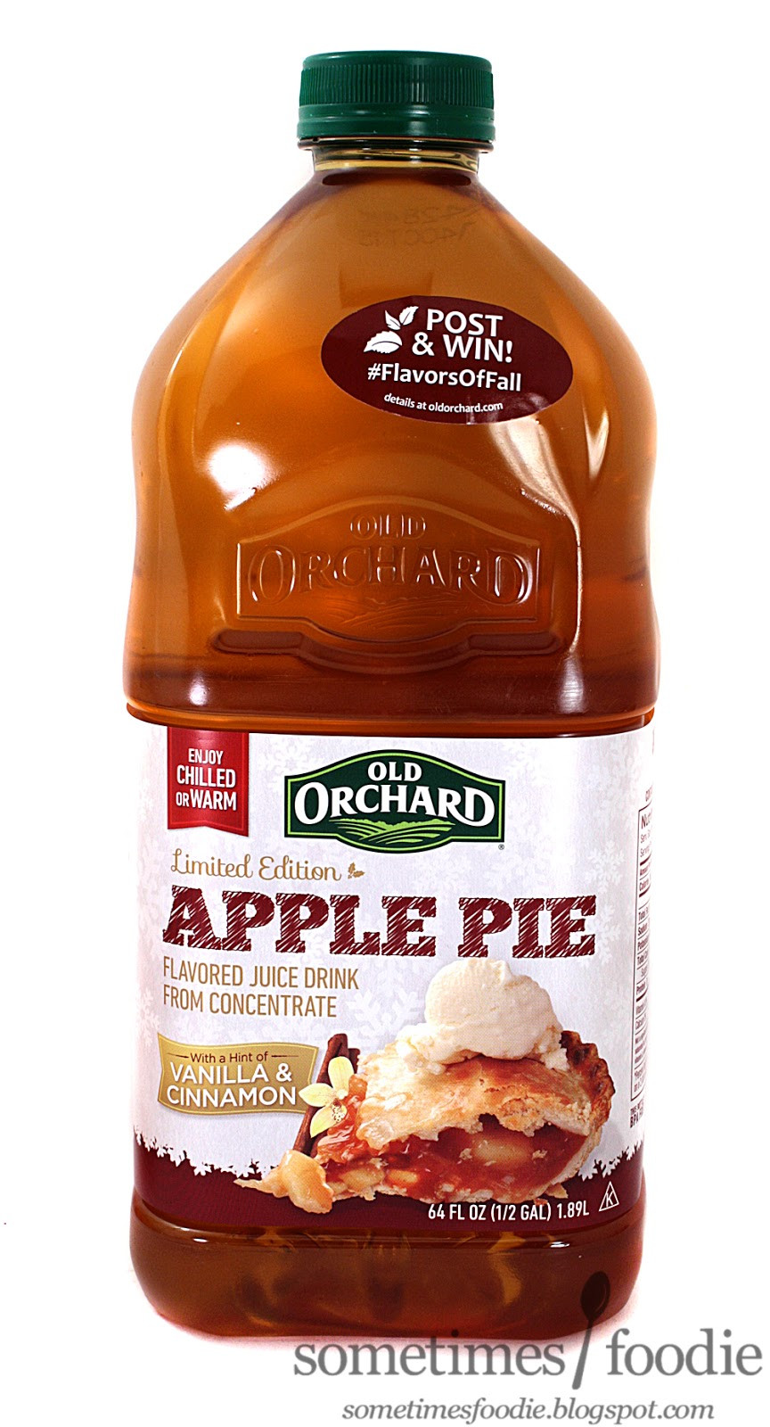 How To Make Apple Pie Drink  Sometimes Foo Limited Edition Apple Pie Juice Drink