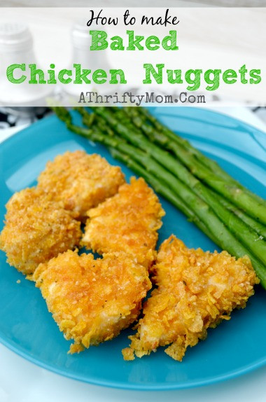 How To Make Baked Chicken  Baked Chicken Nug s How to make in 30 minutes or less