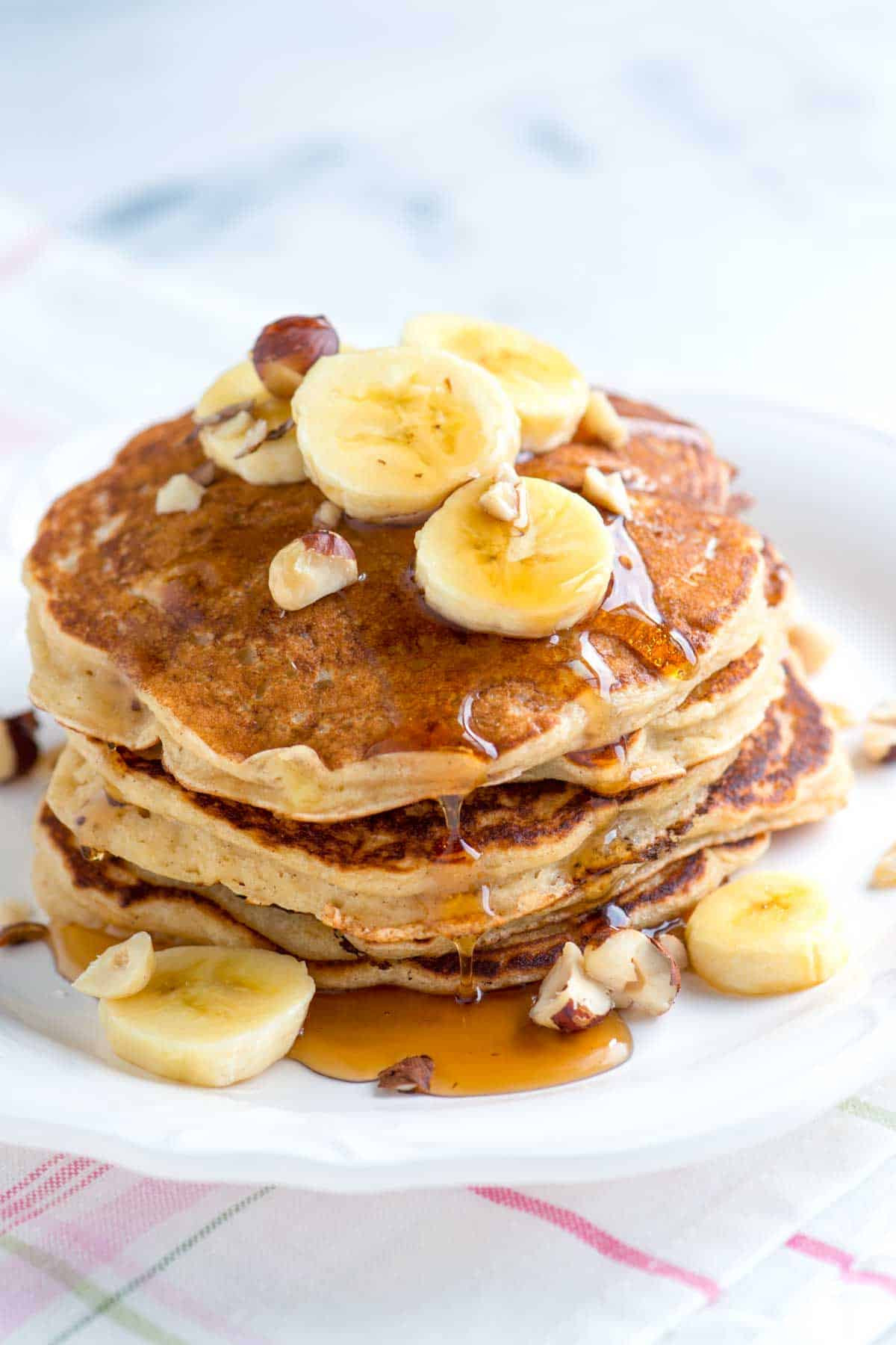 How To Make Banana Pancakes  Spiced Buttermilk Banana Pancakes Recipe