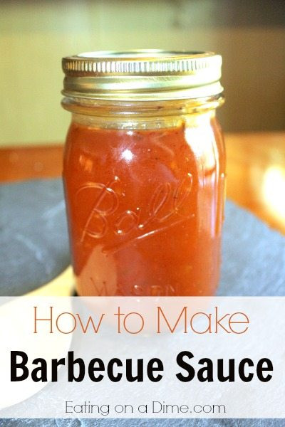 How To Make Bbq Sauce  Easy Homemade Barbecue Sauce Make this BBQ sauce in minutes