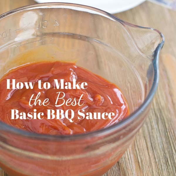 How To Make Bbq Sauce From Scratch  make barbecue sauce from ketchup