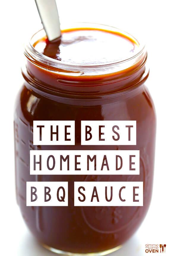 How To Make Bbq Sauce  Homemade BBQ Sauce Recipe