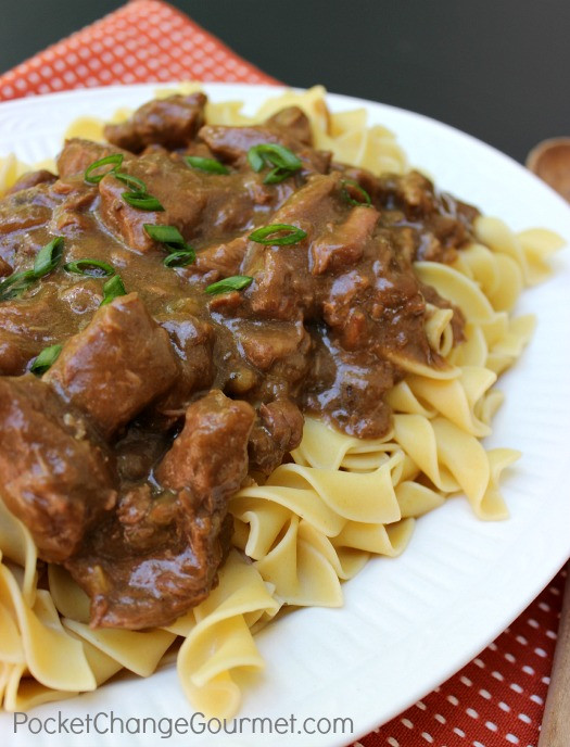 How To Make Beef And Noodles  Slow Cooker Beef and Noodles Recipe