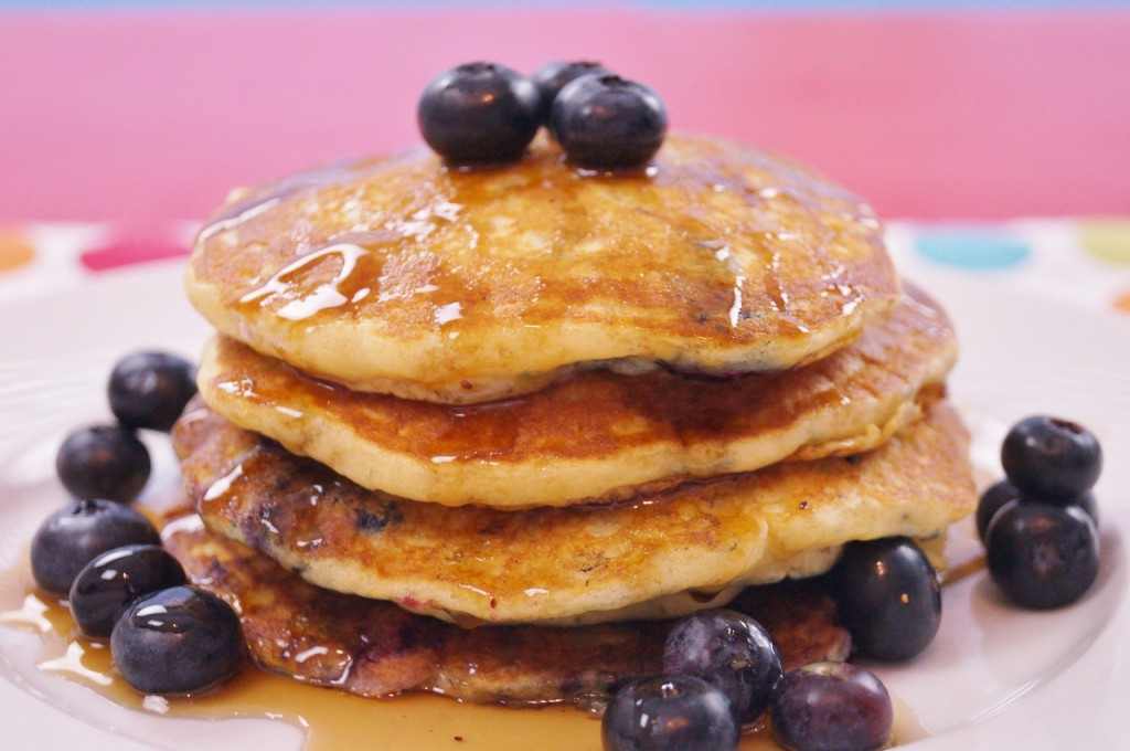 How To Make Blueberry Pancakes  Blueberry Pancakes From Scratch Mom's Best Recipe