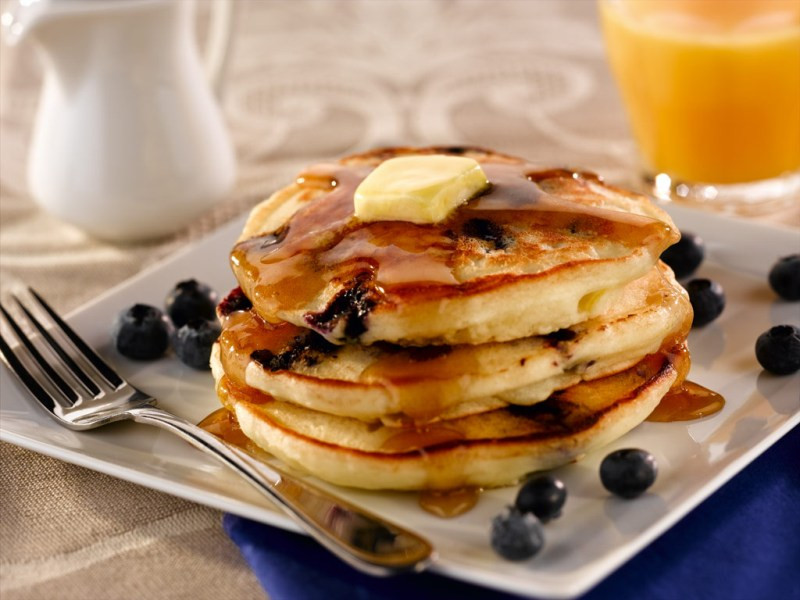 How To Make Blueberry Pancakes  Blueberry Pancakes By foo