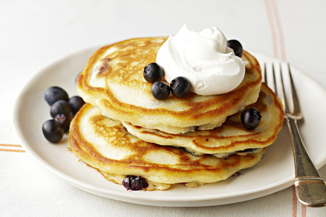 How To Make Blueberry Pancakes  Blueberry Pancakes Recipe Kraft Canada