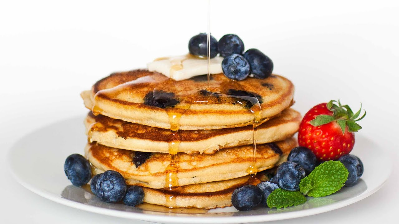 How To Make Blueberry Pancakes  Blueberry Pancakes