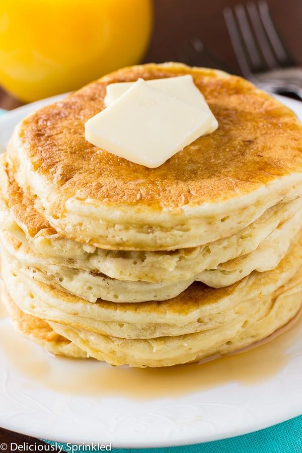 How To Make Buttermilk Pancakes  Homemade Buttermilk Pancakes